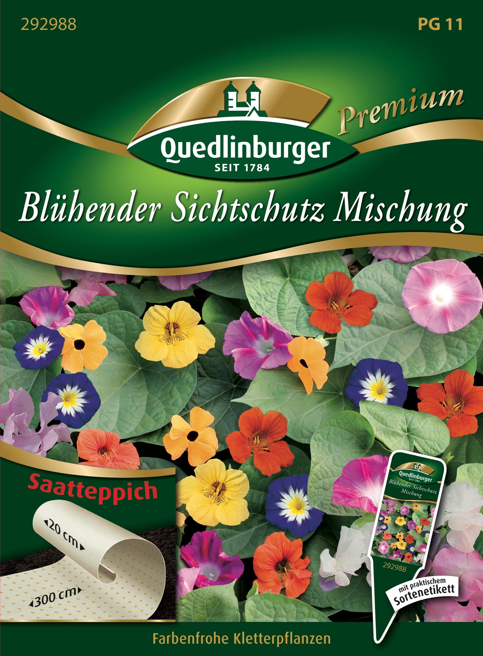 Bluhender Sichtschutz Mischung Gartnerland Quedlinburg